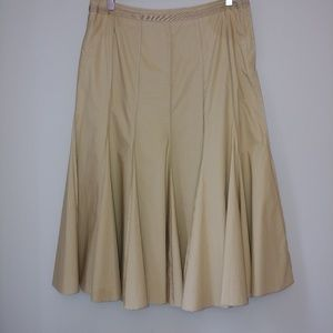 Hirsch Women's Pleated Midi Skirt US Size 10